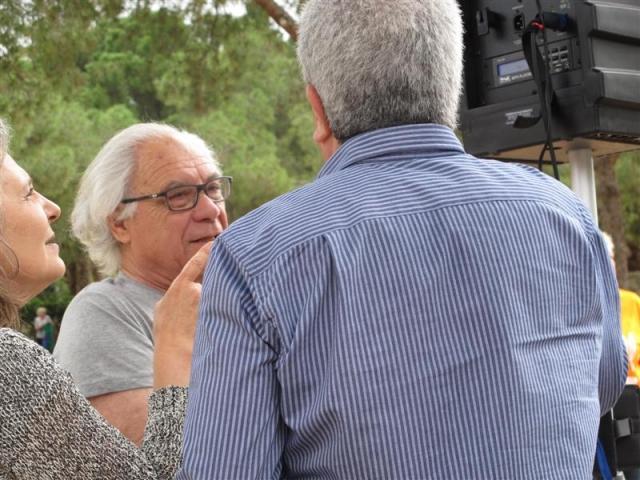 Javier de la Rosa y Eulàlia Framis, monitores de Tai-txi